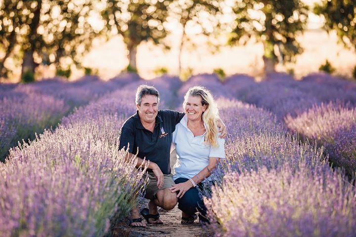 Gary Wood & Karla Champion Yanchep Lavender