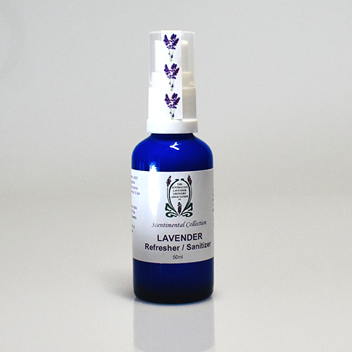 Lavender Spray Refresher/Sanitiser 50ml